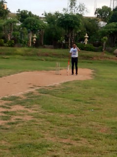 Crazy Cricket punishment for six